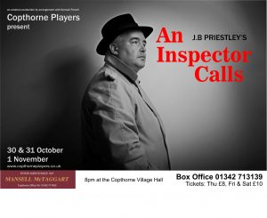 Tickets now on sale for An Inspector Calls 30th October – 1st November